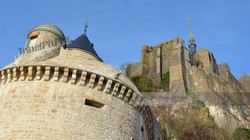 The Gabriel Tower Mont St Michel