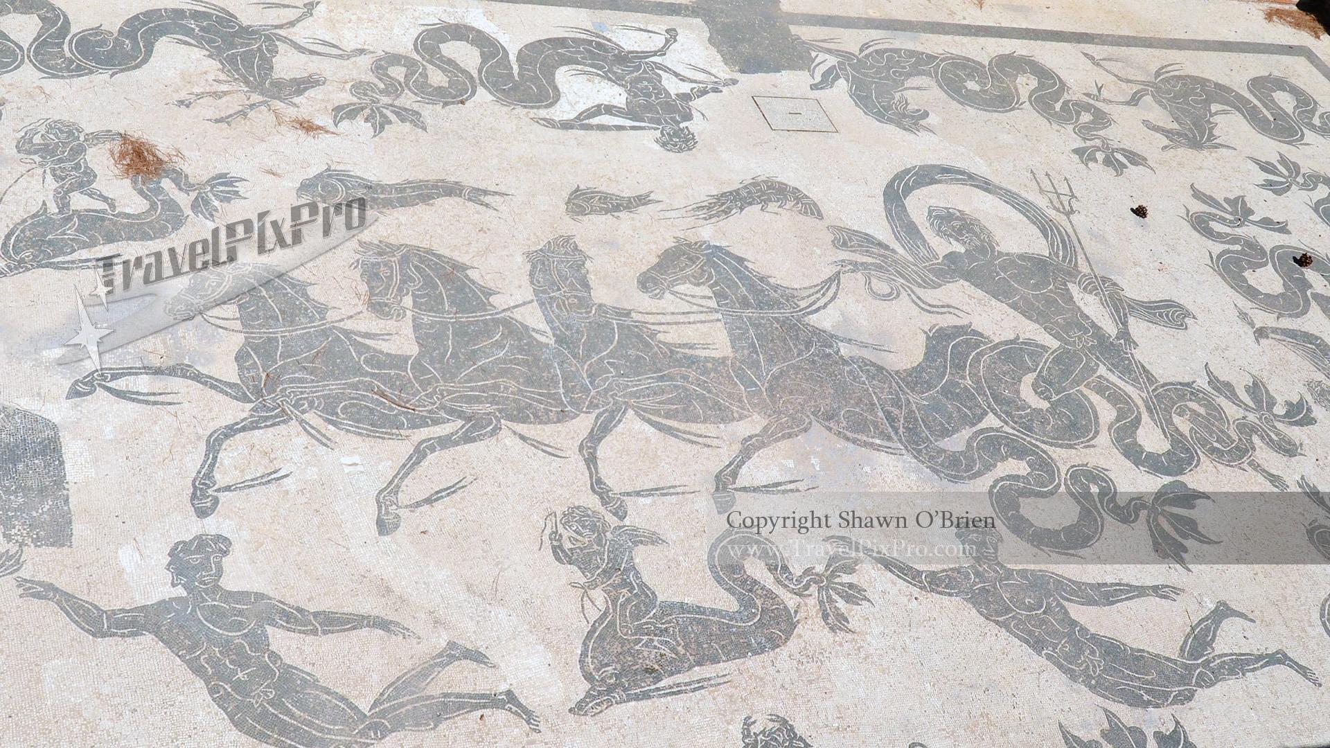 Neptune Mosaic Ostia Antica