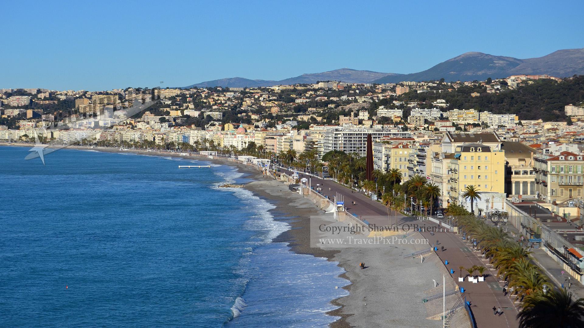 Nice Overlook Promenade des Anglais