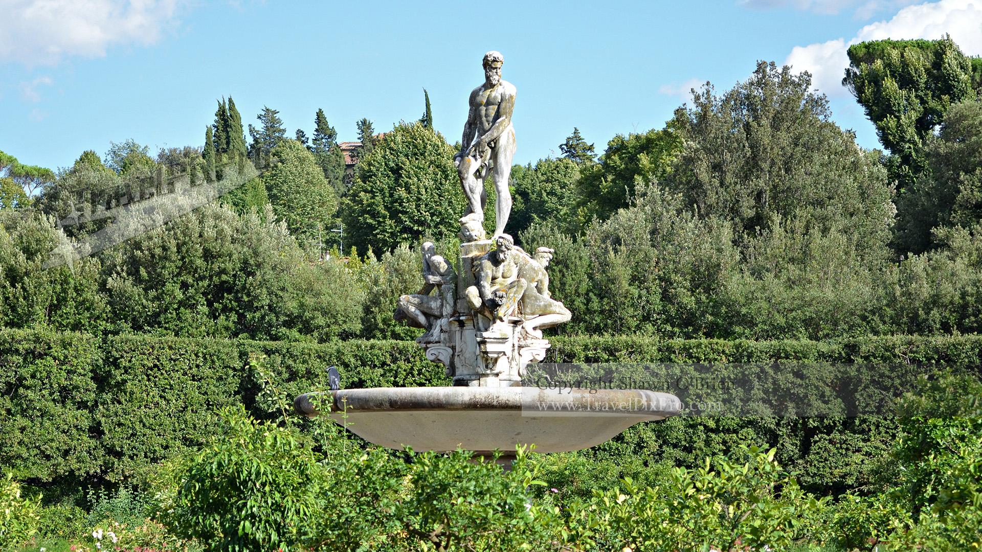 Ocean Fountain Boboli Gardens