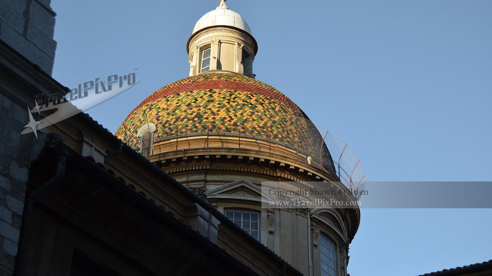 Gesu Church Dome, Old Town Nice
