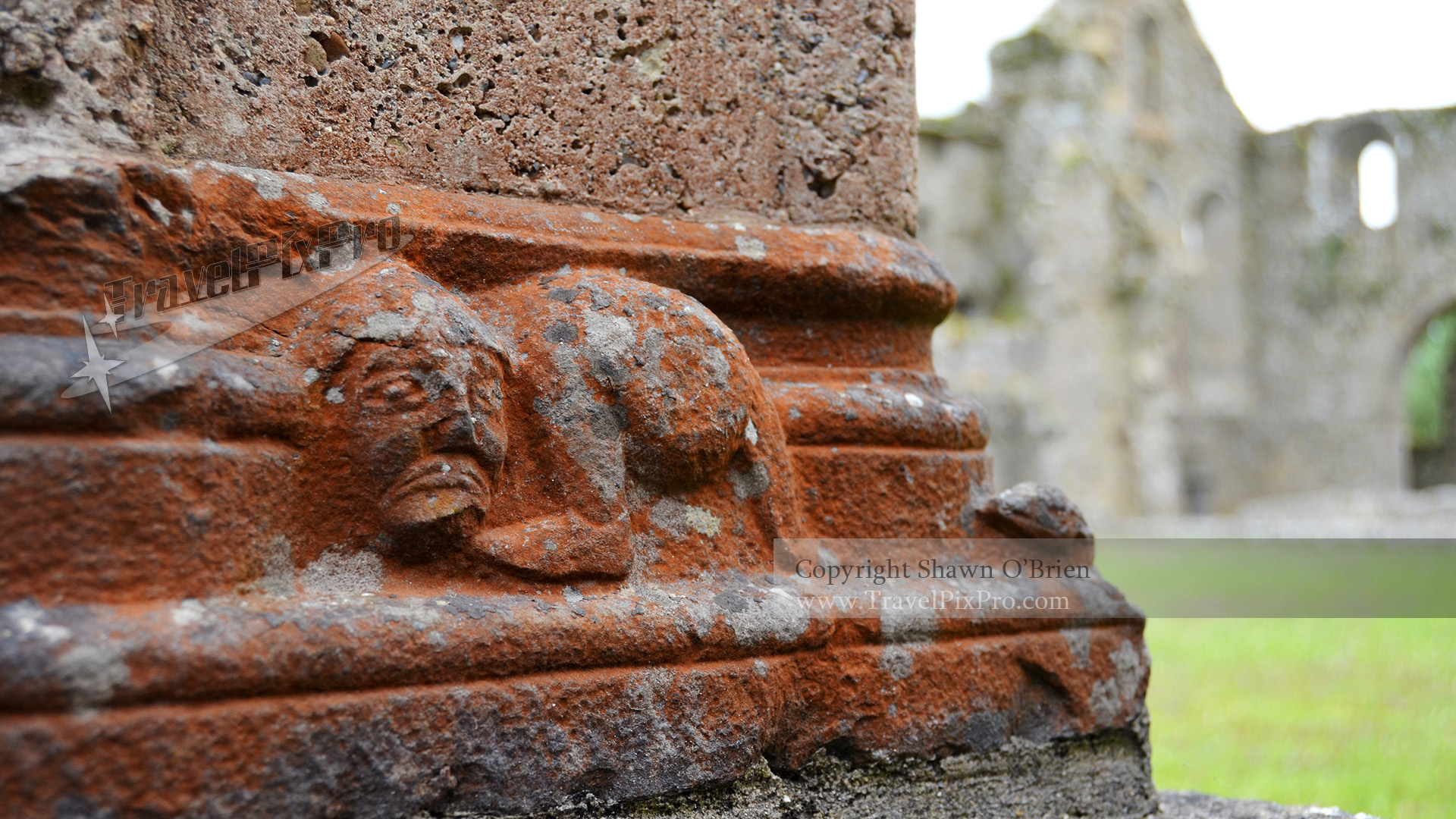 Jerpoint Abbey Cloister Column Base