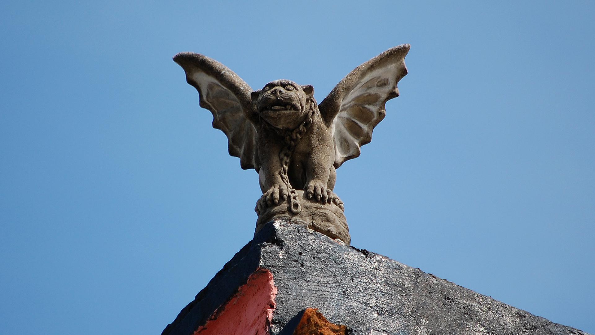 Chained Winged Gargoyle