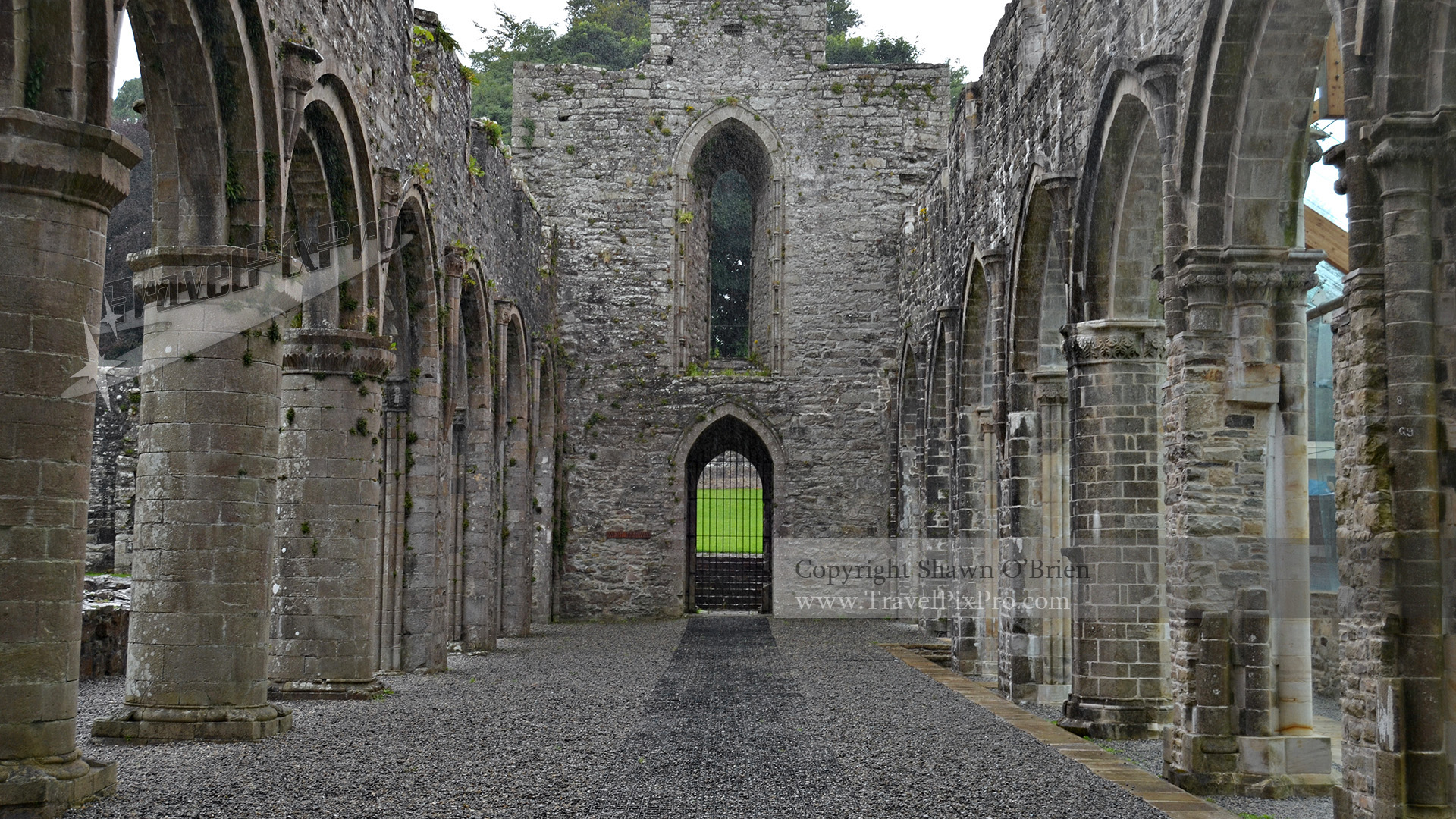 Boyle Abbey Arcade