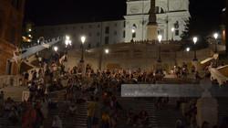 Spanish Steps Evening Rome
