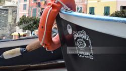 Vernazza Harbor Boat Bow