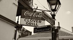 Clover Grill Bourbon Street