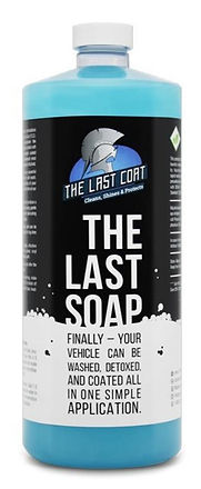 The Last Soap bottle