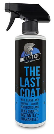 The Last Coat bottle