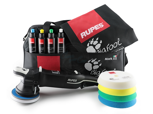 RUPES Bigfoot LHR15 MKIII Polisher Kit