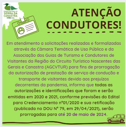 Dia histórico! Pleito da AGCVTUR no Parque Nacional da Serra da Canastra é atendido pelo ICMBio