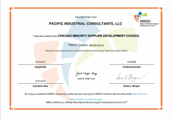 NMSDC Certification - 2018