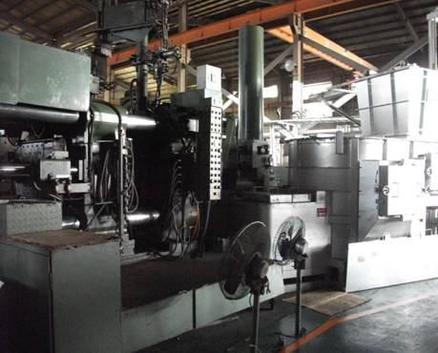 -3x High pressure die casting machines: 350T x1, 500T x1 and 800T x1