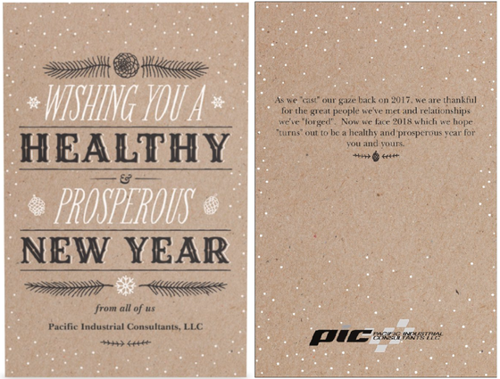 The only thing better than Corporate Holiday Card...