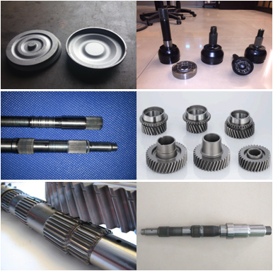 Forged Steel Powertrain Components