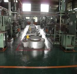 -2x Melting furnaces, melt rate = 1900 kg per hour -12x 300 kg holding furnaces