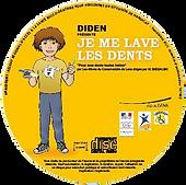 le disque audio du kit Diden