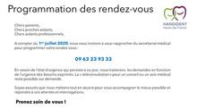 Information aux patients de l'USOS de Villeneuve d'Ascq