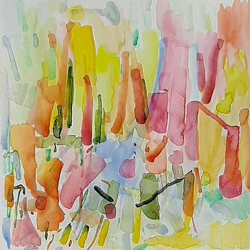 Watercolor16 30x30cm