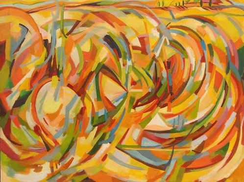 The Idea 2006 oil 170x220cm