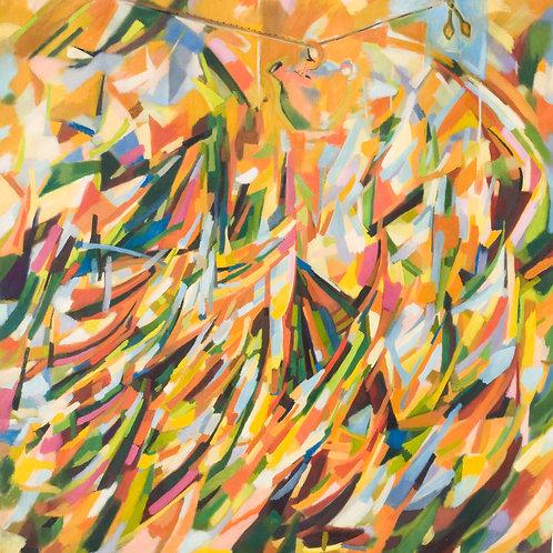 El Botijo 2007 óleo 145x130cm