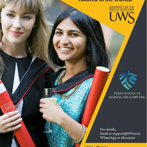 MBA from University of The West of Scotland, UK, in India