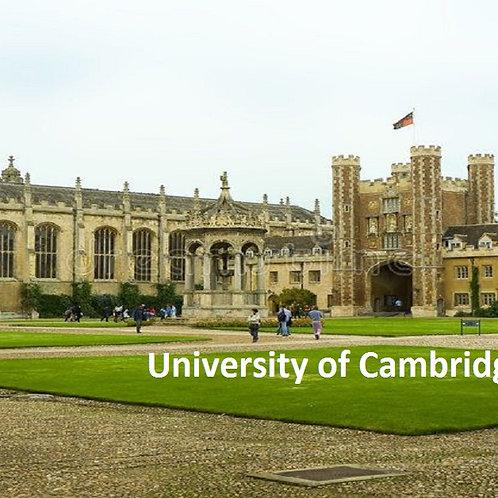 University of Cambridge, Cambridge
