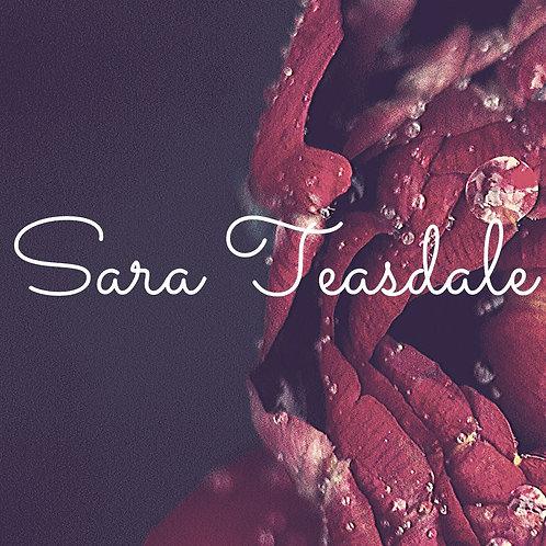 Collection - Sara Teasdale