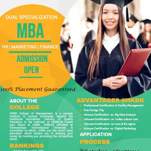 MBA with Dual Specialization in Bangalore