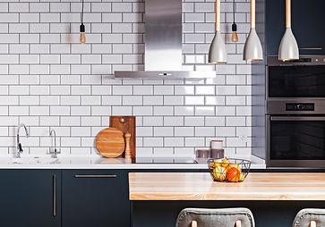 Modern interior. Spacious  kitchen  with