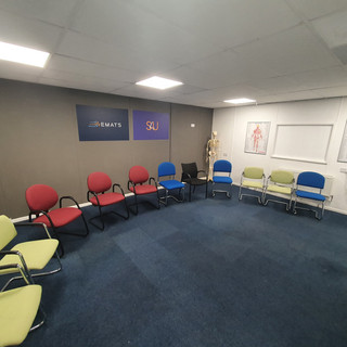 Semi Circle of Chairs