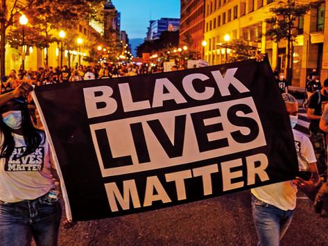 "Black Lives Matter Acronym ""BLM"""