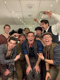 Going on as Jack Kelly at Arena Stage