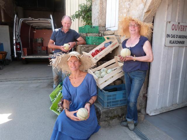 Des Melons des oignons...
