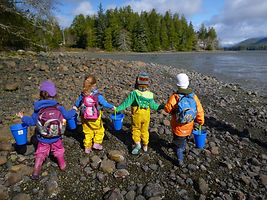 Tofino children's nature program, West Coast Nature Kids