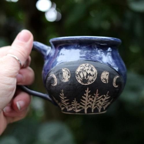 Indigo Moon Mug I