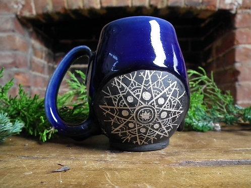 Star Snowflake Mandala Mug