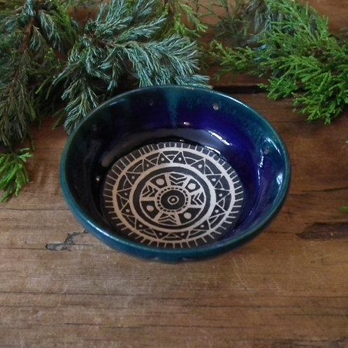 Ocean Tribal Trinket Dish