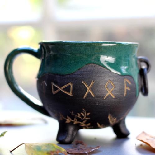 Rune Cauldron Mug I