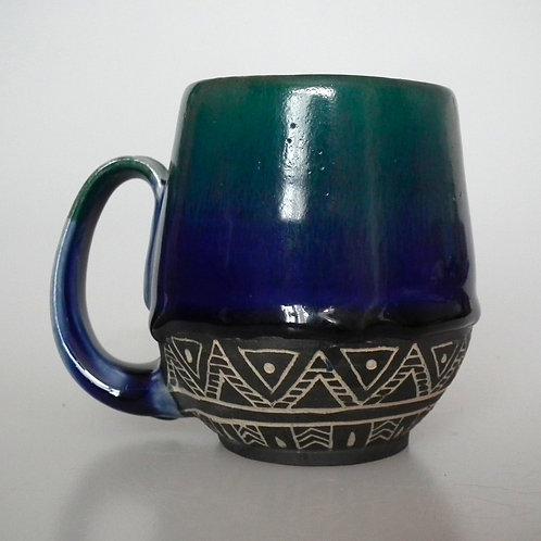 Ocean Tribal Mug