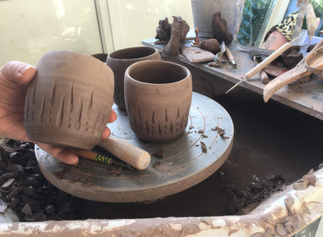 Carving in Clay