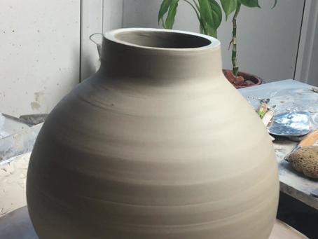 Throwing a Moon Jar