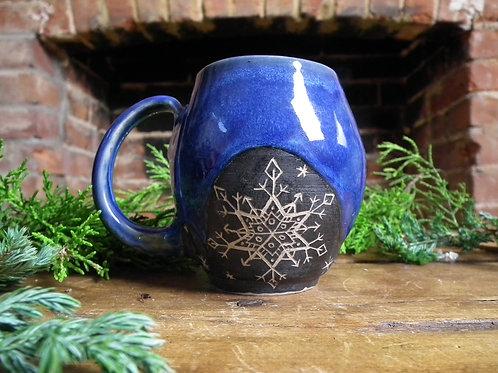Star Snowflake Mug