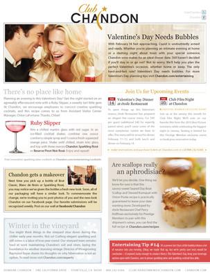 Wine Club Newsletter