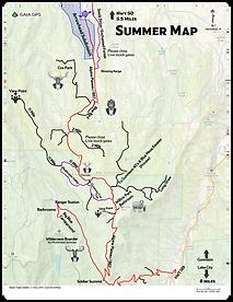Arrowhead in Gunnsion County Off-Roading Map