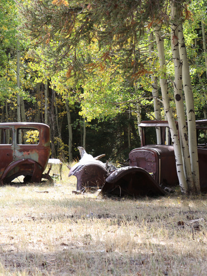 Old Cars at Arrowhead Mountain Lodge