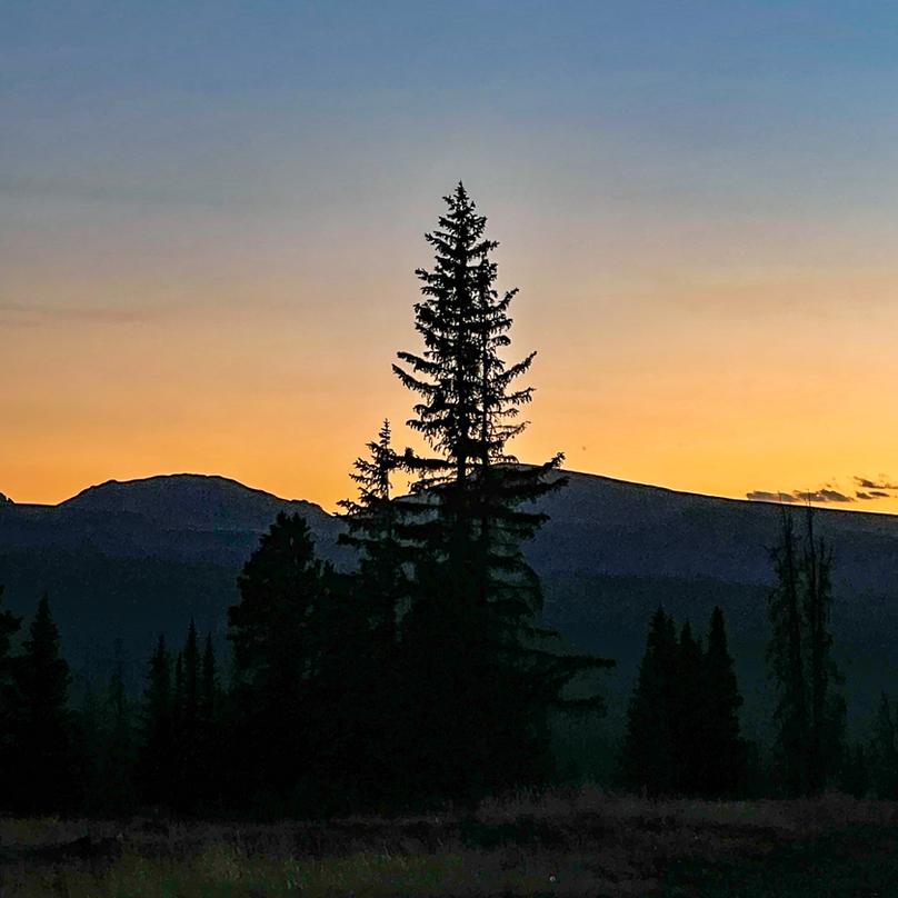 San Juan Mountains at Sun Set
