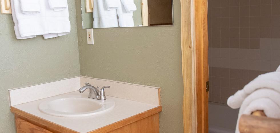 Bathroom in the Cowboy Room