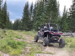 Rzr Ride on the Alpine Plateau