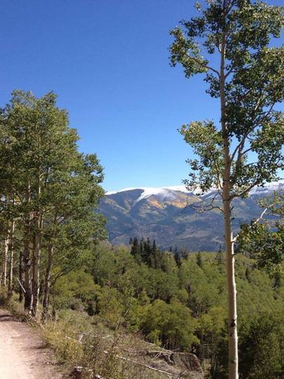 Alpine Plateau RD 149 to Lake City from Arrowhead Mountain Lodge